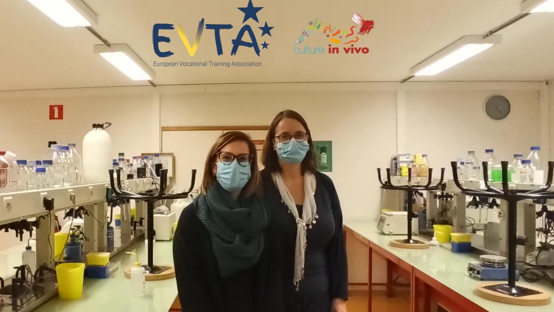 The EVTA Secretariat visits Culture in vivo ASBL