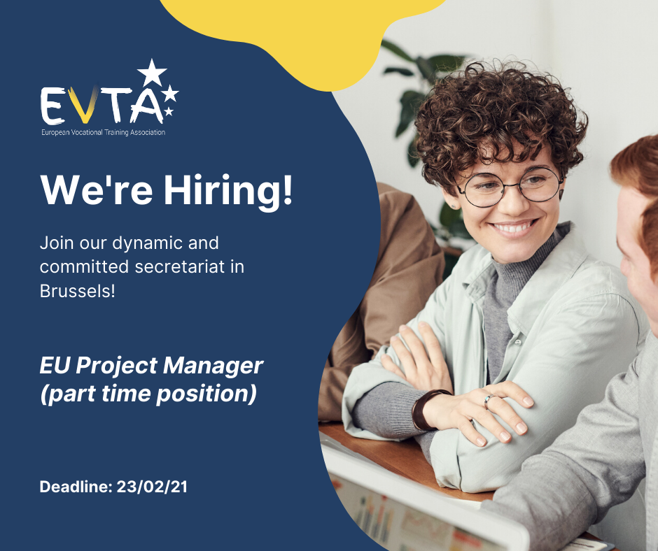 EVTA is recruiting an EU Project Manager (part time position)!