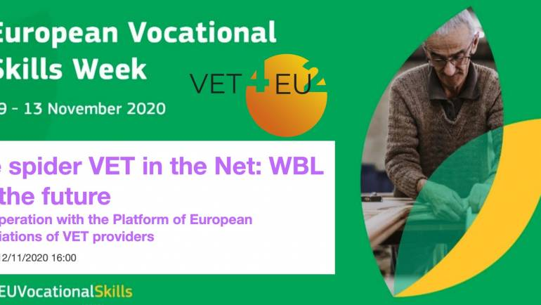 Workshop – The spider VET in the Net: WBL for the future